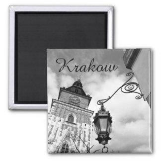 Krakow, Old Town Hall, Poland, fridge magnet