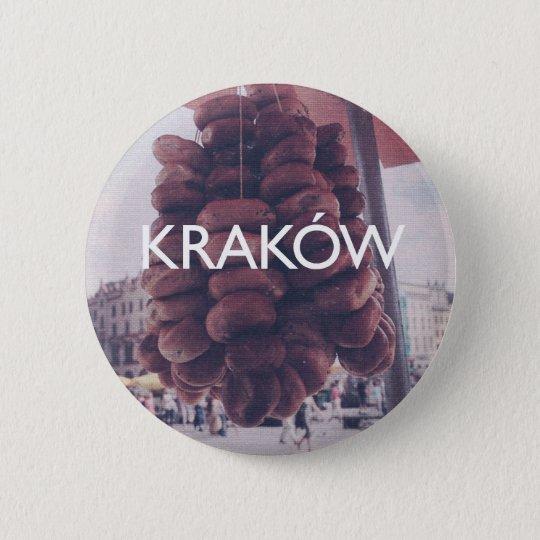 Krakow Pinback Button