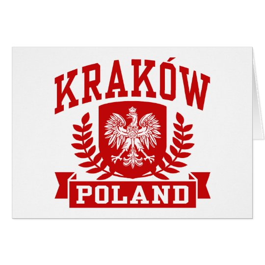 Krakow Poland Card