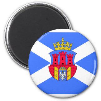Krakow, Poland flag Magnet