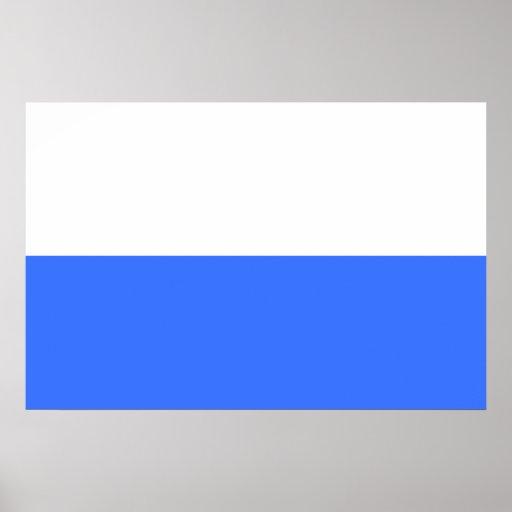Krakow, Poland flag Posters
