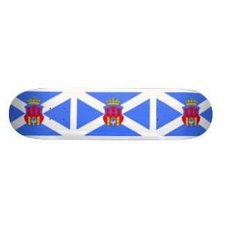 Krakow, Poland flag Skate Deck