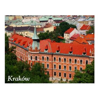 Kraków, Poland Postcard