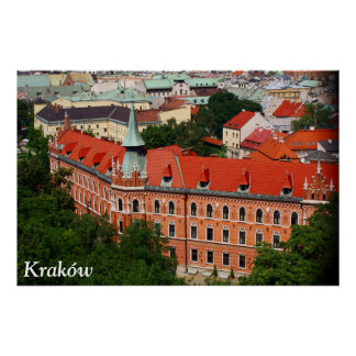 Kraków, Poland Poster