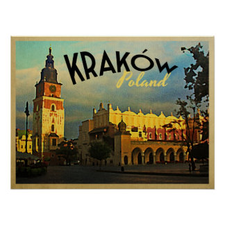 Krakow Poland Poster