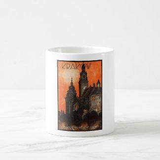 Krakow Poland - Vintage Polish Travel Poster Coffee Mug