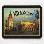 Kraków Polonia Alfombrillas De Ratón