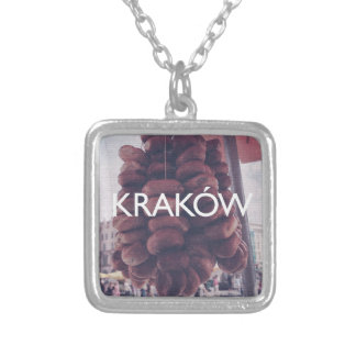 Krakow Silver Plated Necklace