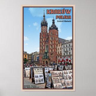 Krakow - St Marys Basilica Print