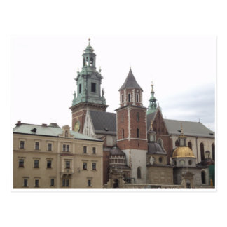 Kraków Tarjeta Postal