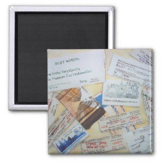 Krakow tickets magnet