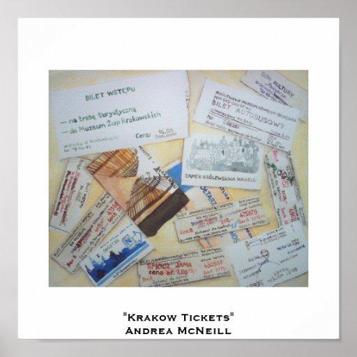 Krakow Tickets Poster