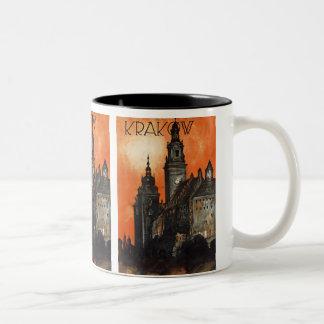 Krakow Two-Tone Coffee Mug