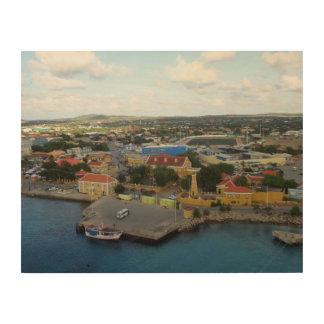 Kralendijk Harborfront Cuadros De Madera