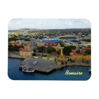 Kralendijk Harborfront Rectangular Photo Magnet