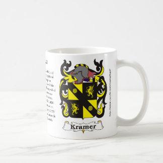 Kramer Family Coat of Arms mug
