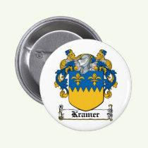Kramer Family Crest Button