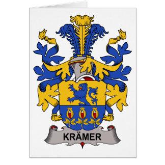Kramer Family Crest Card