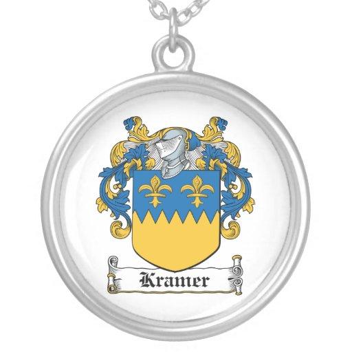Kramer Family Crest Necklace