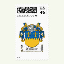 Kramer Family Crest Stamps