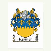 Kramer Family Crest Postcard
