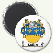 Kramer Family Crest Magnet