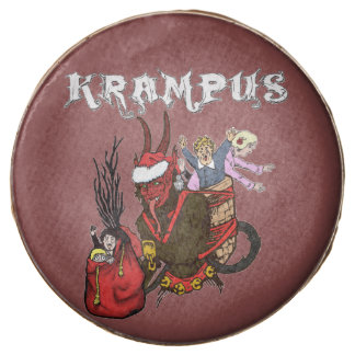 Krampus and Naughty Children Cookies