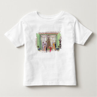 Krampus and St. Nicholas from journal of Carl Toddler T-shirt