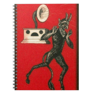 Krampus and the Victrola Notebook