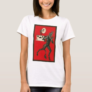 Krampus and the Victrola T-Shirt
