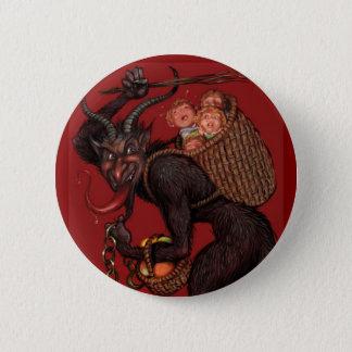 Krampus Button