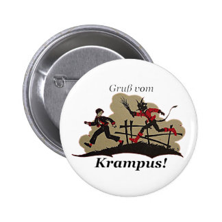 Krampus Chases Kid Button