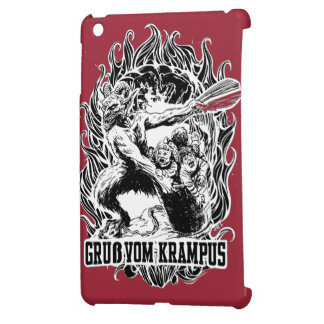 Krampus Christmas in Black Cover For The iPad Mini