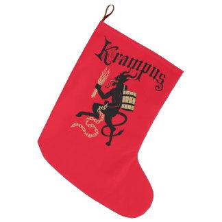 Krampus Christmas Stocking Large Christmas Stocking
