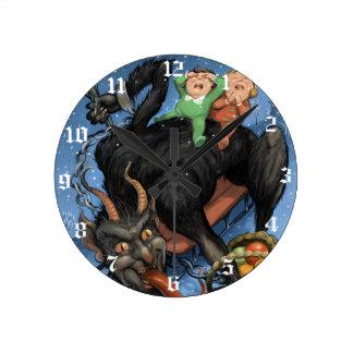 Krampus Clock