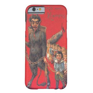 Krampus con los malos niños funda de iPhone 6 barely there
