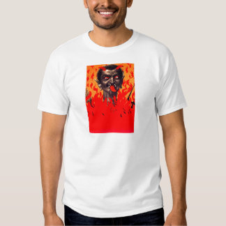 Krampus Emerging From Hell T-Shirt