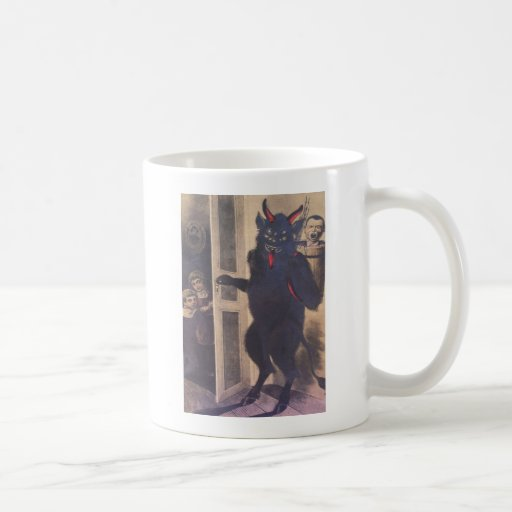 Krampus Gathering Family Classic White Coffee Mug