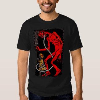 Krampus has a long tongue! t-shirt