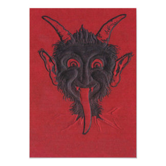 Krampus Invitation