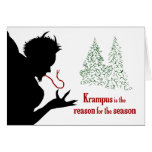Krampus is the Reason for the Season Greeting Card