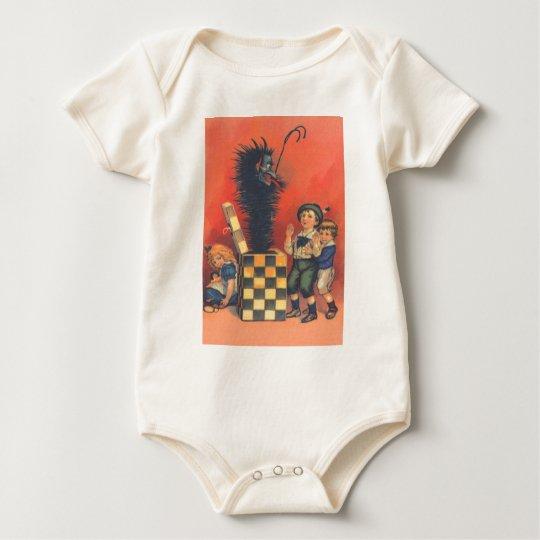 Krampus Jack-In-A-Box Baby Bodysuit
