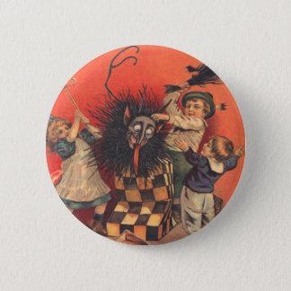 Krampus Jack-In-A-Box Button