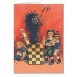 Krampus Jack-In-A-Box Greeting Card