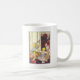 Krampus Kidnapping Bad Children Coffee Mug