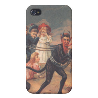 Krampus Kidnapping Children Cases For iPhone 4