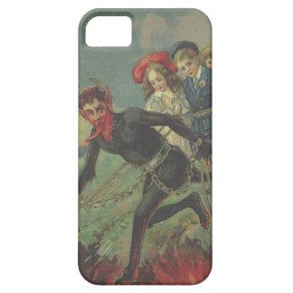 Krampus Kidnapping Children iPhone SE/5/5s Case