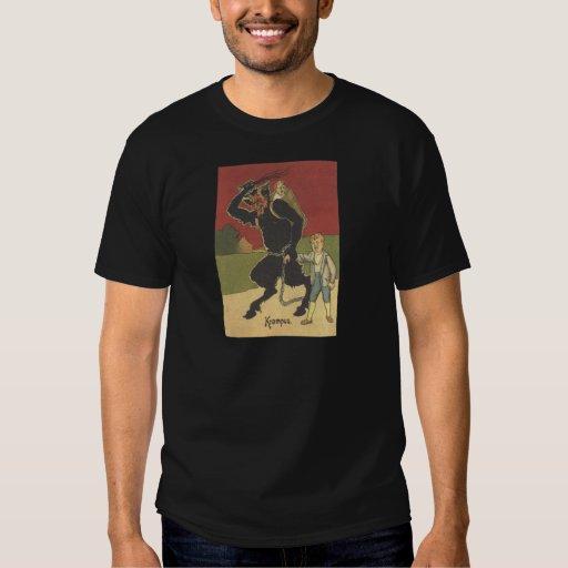 Krampus Kidnapping Children Shirt