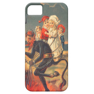 Krampus Kidnapping Children To Hell iPhone SE/5/5s Case