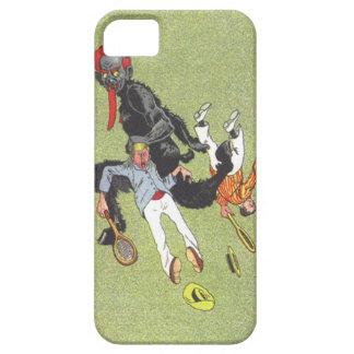 Krampus Kidnapping Men iPhone SE/5/5s Case